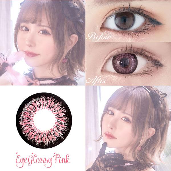Eye glossy